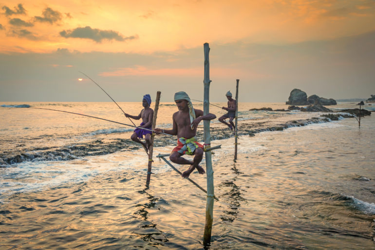 stilt fishermen sri lanka