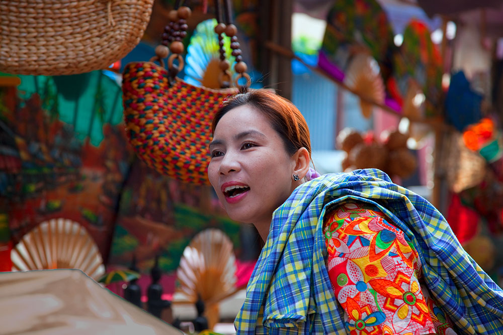World travel photos Thailand floating market
